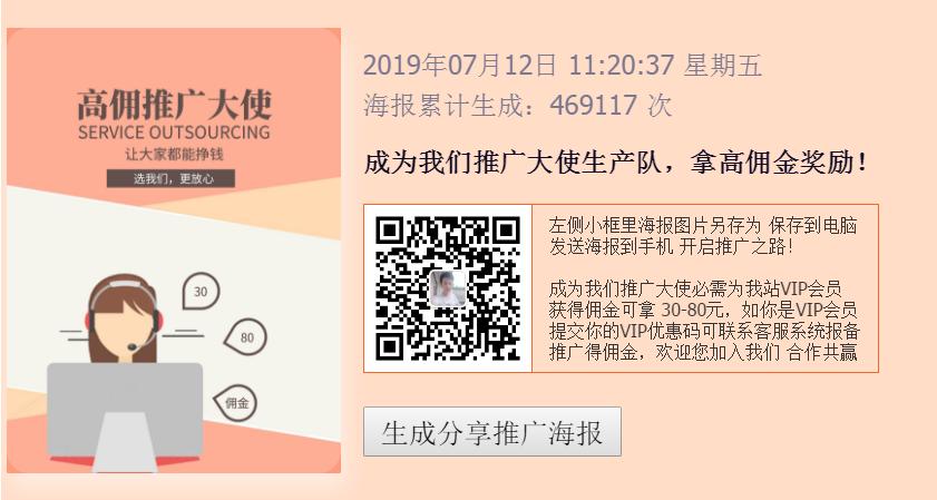 网络营销VIP推广大使月入3万
